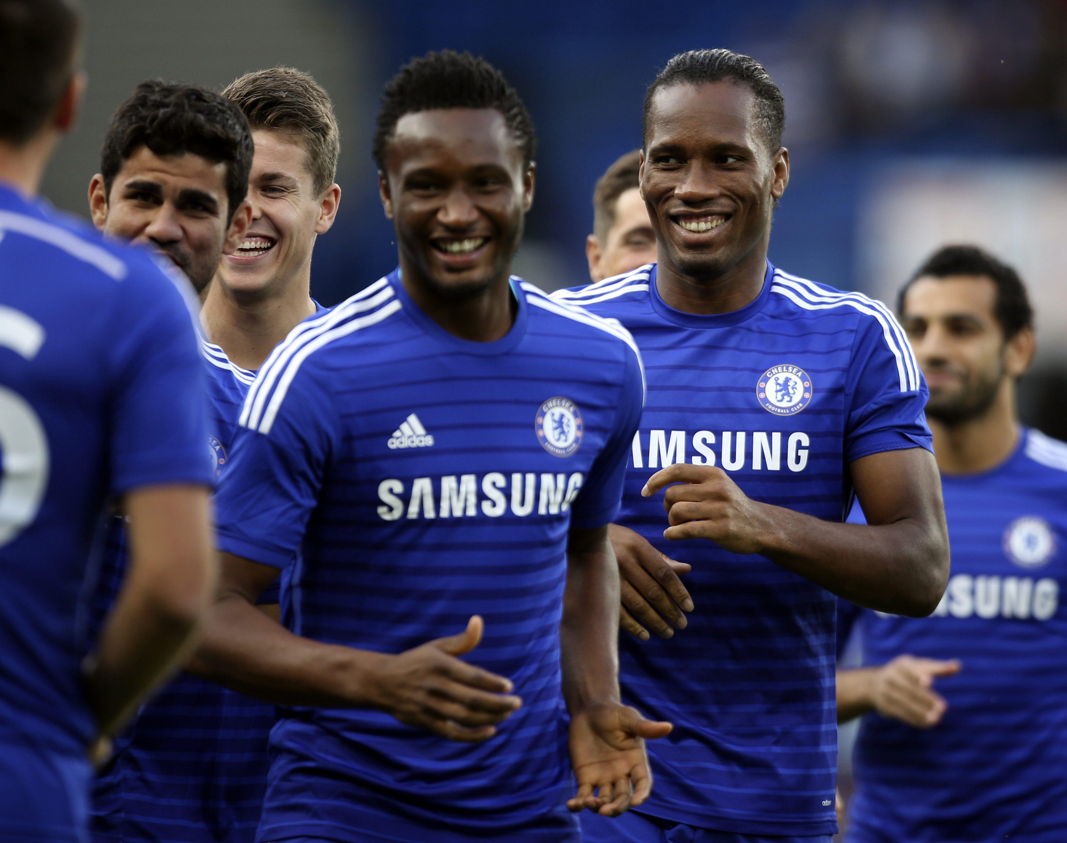 official photos 91c2f c9268 Oscar award helps Drogba get No 11 Chelsea shirt back   The ...