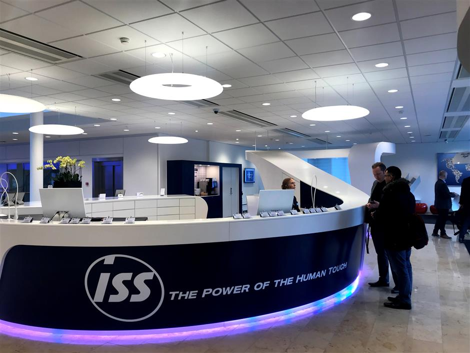 A general view of the ISS headquarters at the outskirts of Copenhagen, Denmark January 24, 2019. Picture taken January 24, 2019. REUTERS/Stine Jacobsen
