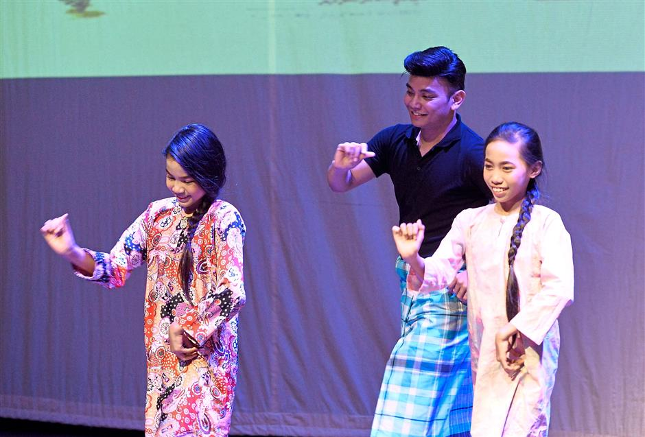 Dancing requires the right and left brain to work, so it helps develop multiple intelligences, says Prof Anis. — ONG SOON HIN/The Star