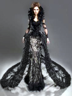<b>Malaysian pride:</b> Kimberley Leggett in the national costume designed by Jovian Mandagie that she will show to the world at Miss Universe 2012.