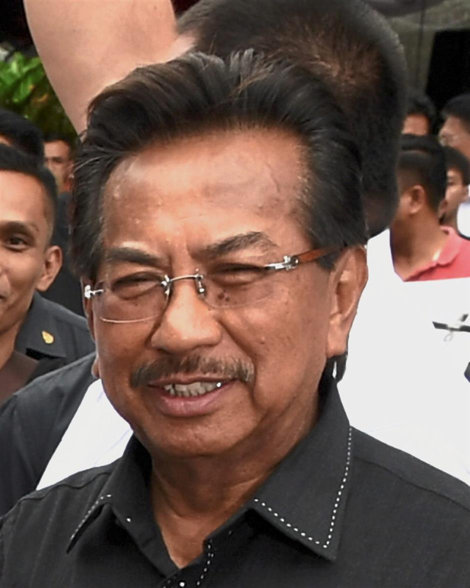Musa: Looks to hold the state comfortably as Barisan's 'fixed deposit'.