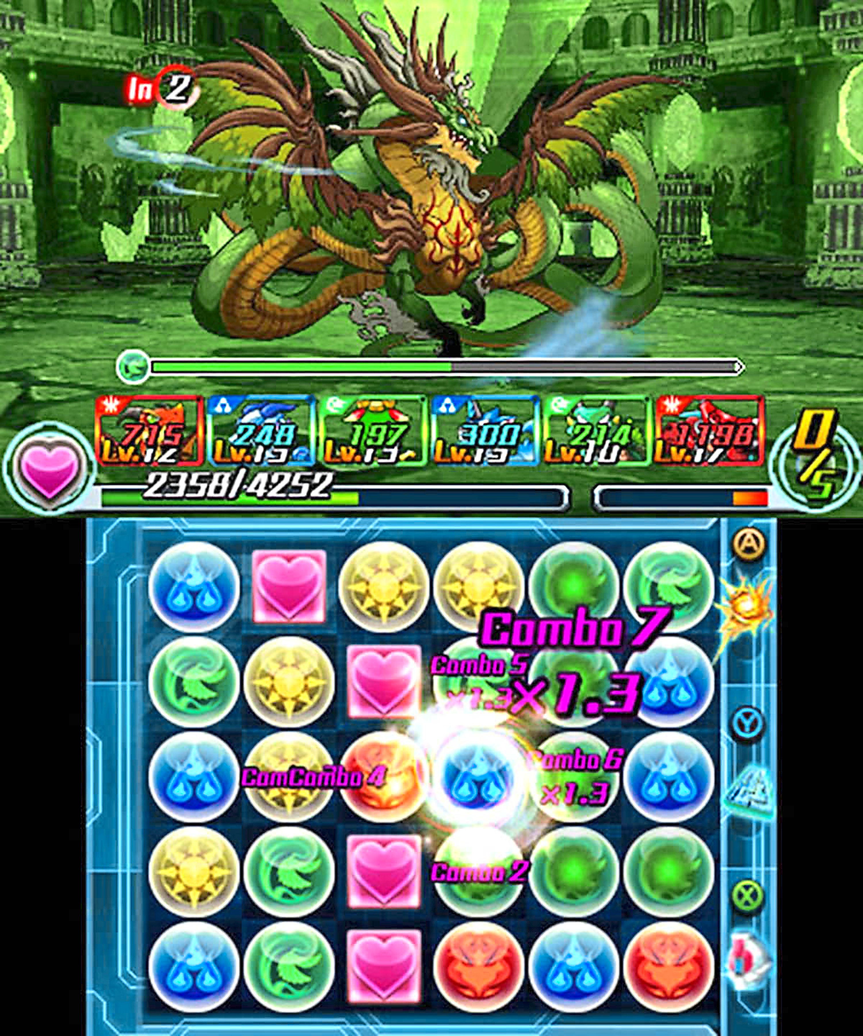 2 Defeated enemies drop puzzle pieces of their own, and they're used to evolve your menagerie in a simple mini-game.