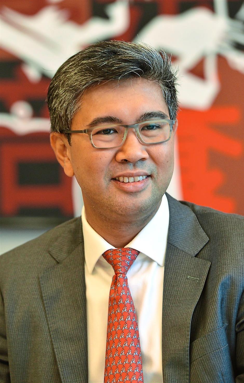CIMB acting group chief executive Tengku Datuk Zafrul Tengku Abdul Aziz