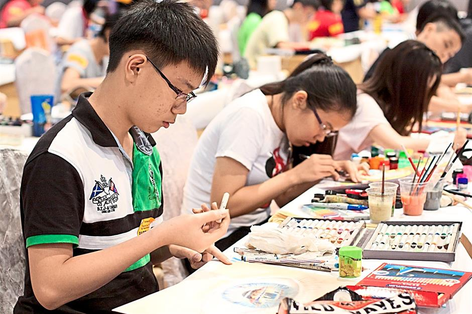 The annual competition offers secondary school students the chance to develop their skills in art and design.