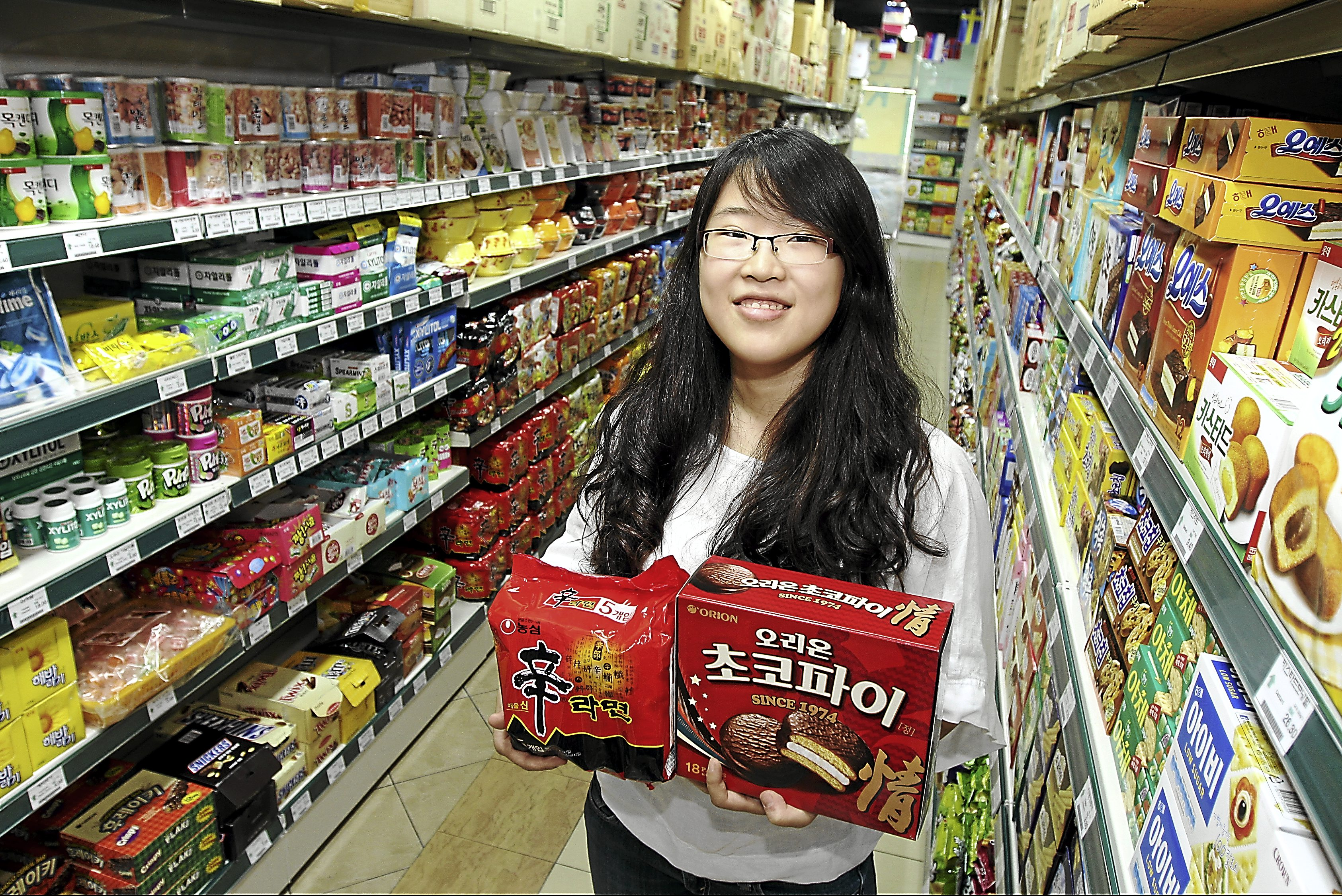 Interview Korean Mart Owner Hannah.
