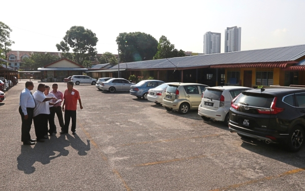The car park area at the school will be partially converted into sepak takraw and futsal courts under phase 3 of the refurbishment plan.