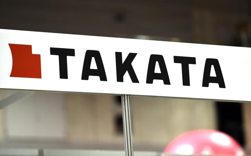 Shigehisa Takada, chairman of airbag maker Takata, says he is personally committed to doing what is necessary for Takata to regain the full confidence of the public and customers - AFP Photo.
