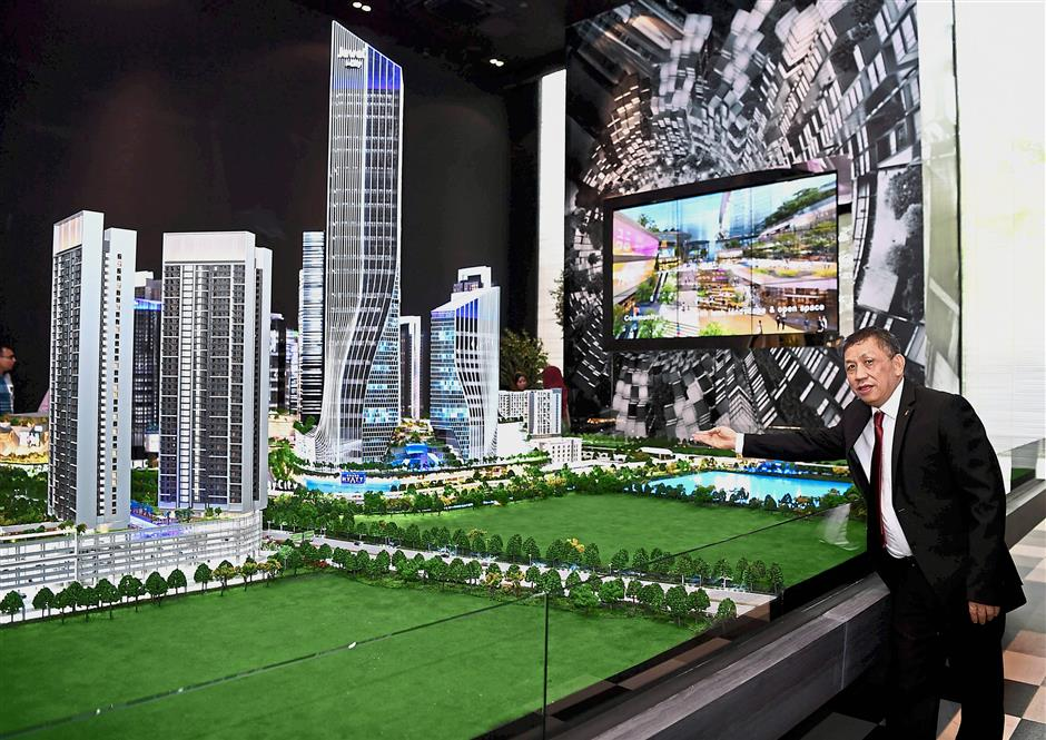 Cutting edge: The i-City, a 72-acre ultrapolis founded by Lim, is recognised as the nation's No 1 Technology City and among the nation's first Smart Cities, if not the first.