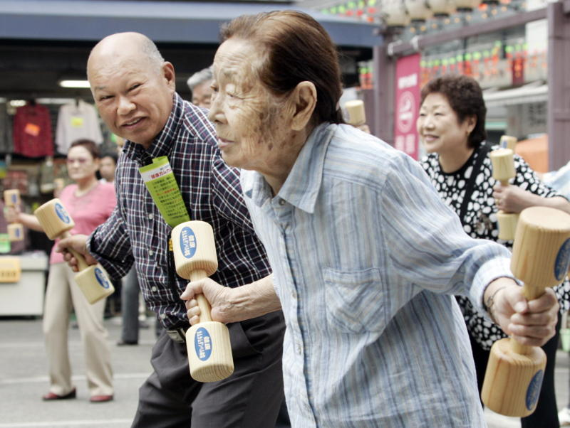 With the most rapidly aging society in the world u2013 a quarter of Japan's population is already over 65 u2013 welfare is the biggest and fastest-growing category of spending.