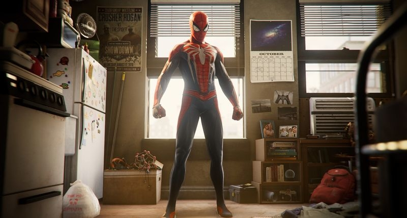 SCREENSHOT - The open-world game 'Spider-Man' lets PS4 players slip into the role of the web-spinning superhero but also that of his alter ego, Peter Parker. Photo: Sony Interactive Entertainment/dpa