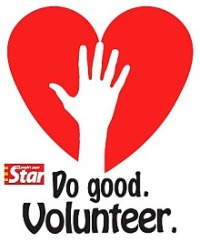 Do good. Volunteer.