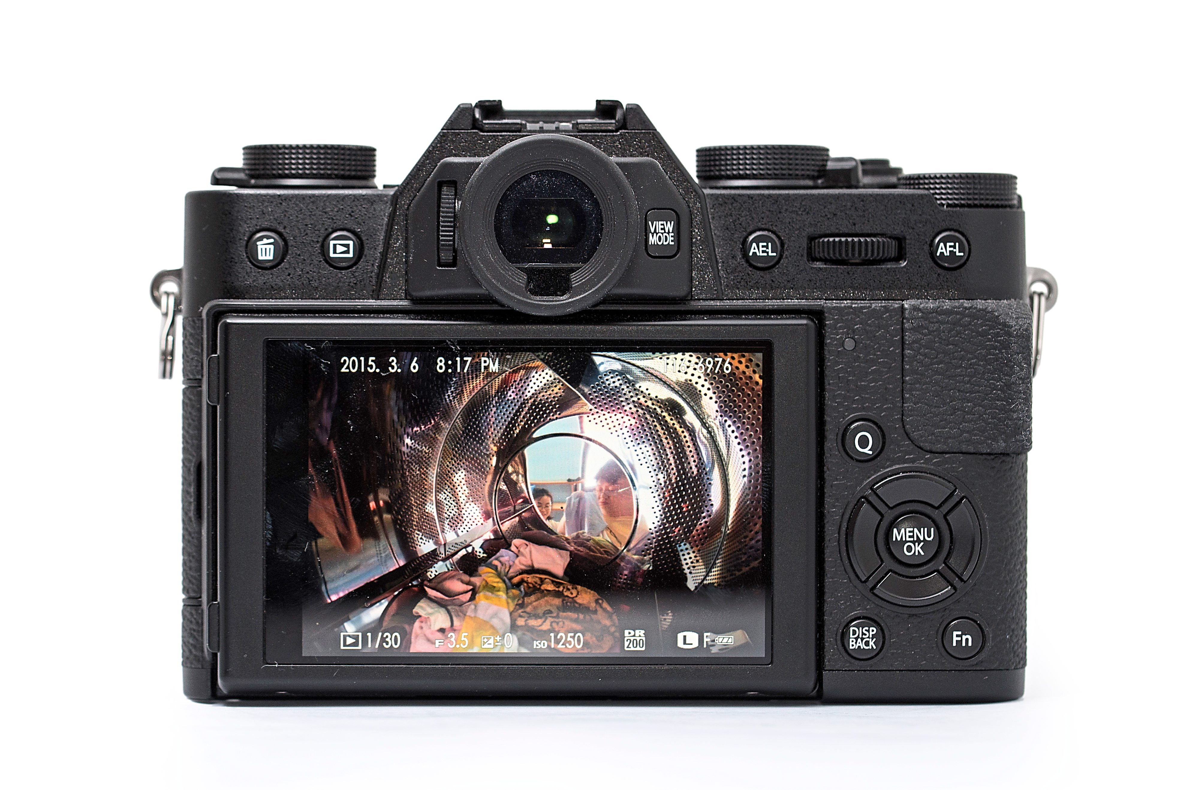 Customisable controls: most of the buttons on the Fuji X-T10 can be mapped to other functions