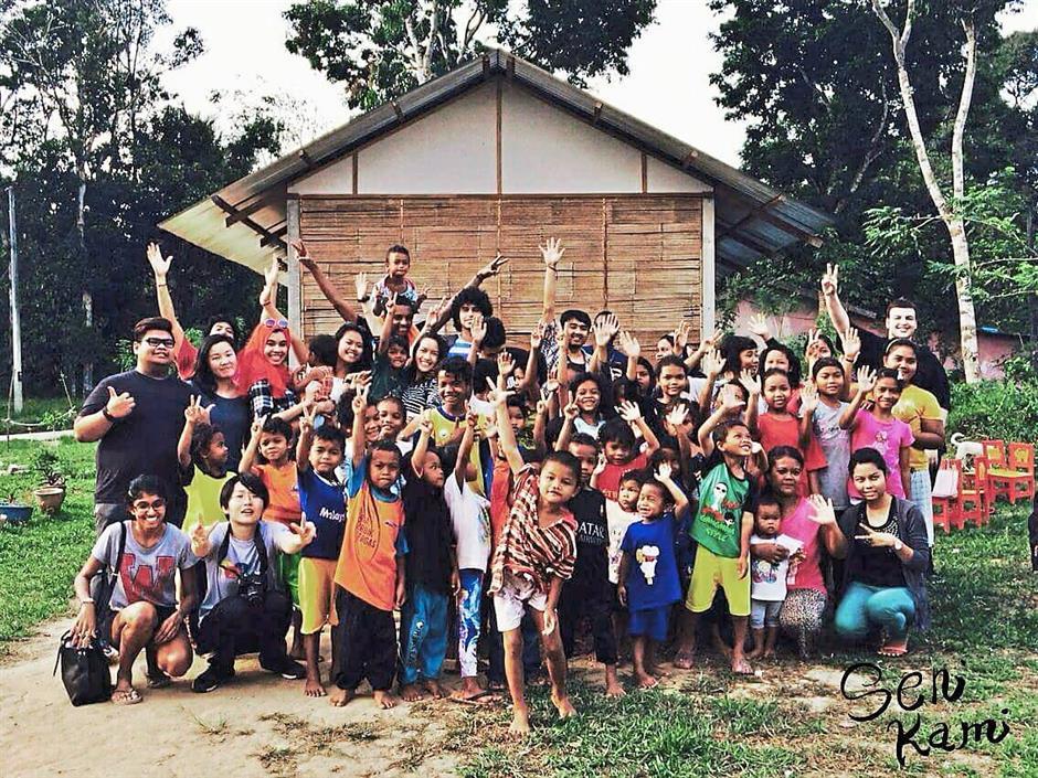 Seni Kami showcase will put forward artwork done by Orang Asli children to raise funds towards conducting monthly creative art workshops with Orang Asli