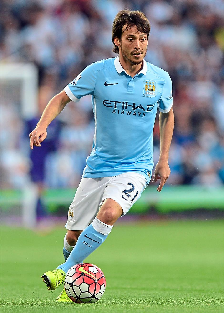 Master midfielder: Silva could be City's key player in today's clash at the Etihad – and it would surprise no one.