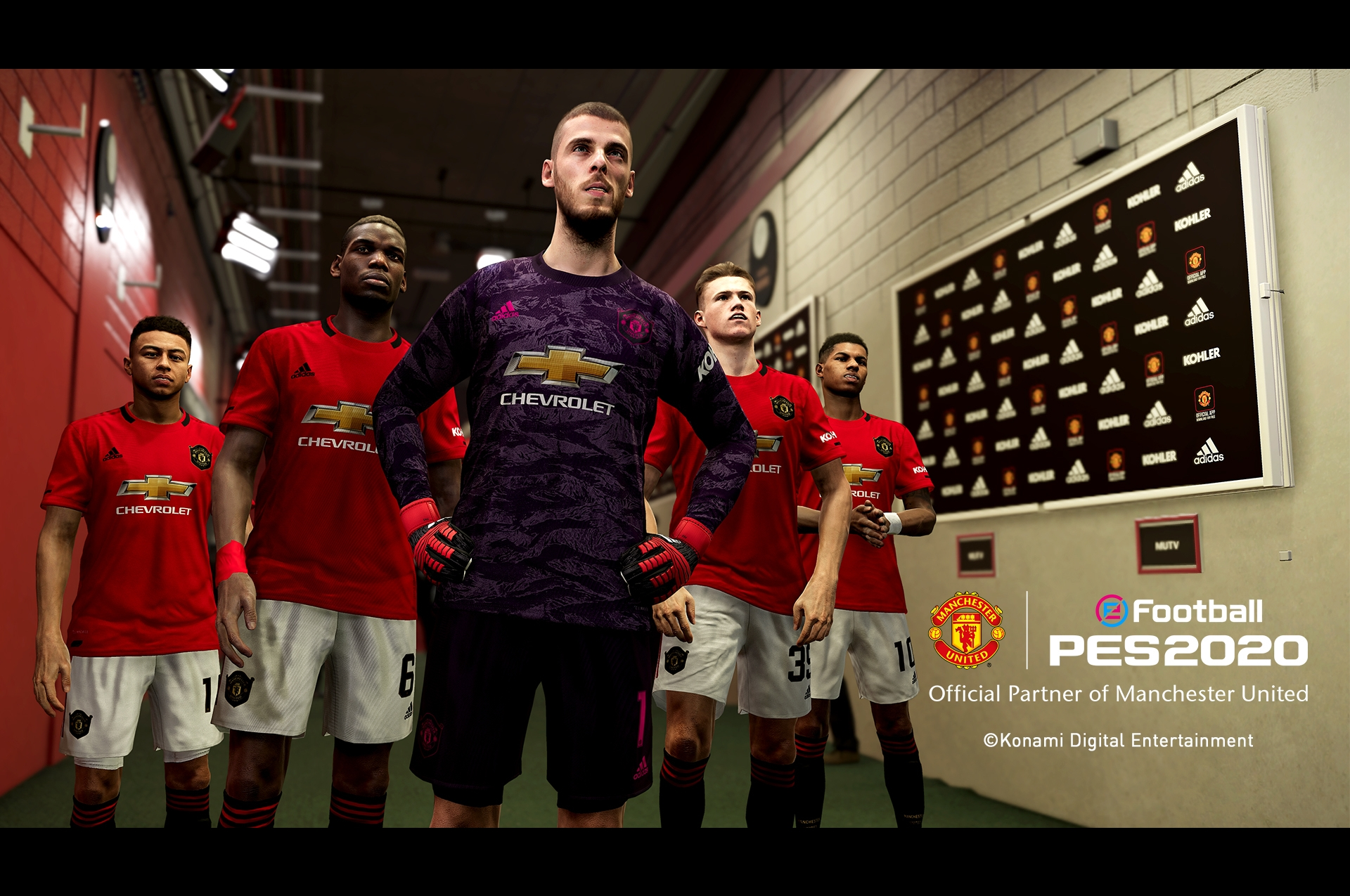 the best attitude 7f891 bbeda PES 2020 swaps Liverpool for Manchester United: Juventus ...