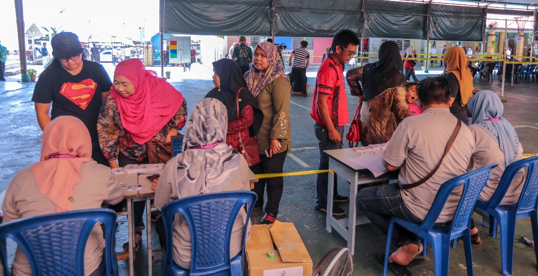 Sandakan by-election: Voter turnout at 37% as of 1pm | The Star Online
