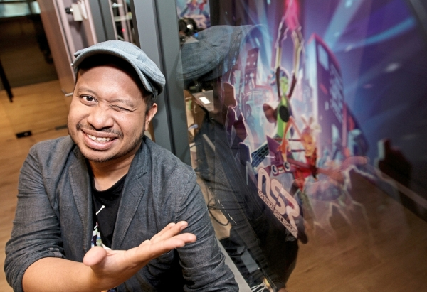 Metronomik's Wan Hazmer says the company wants to prove that Malaysians are capable of producing their own games, and he is starting with No Straight Roads. — YAP CHEE HONG/The Star