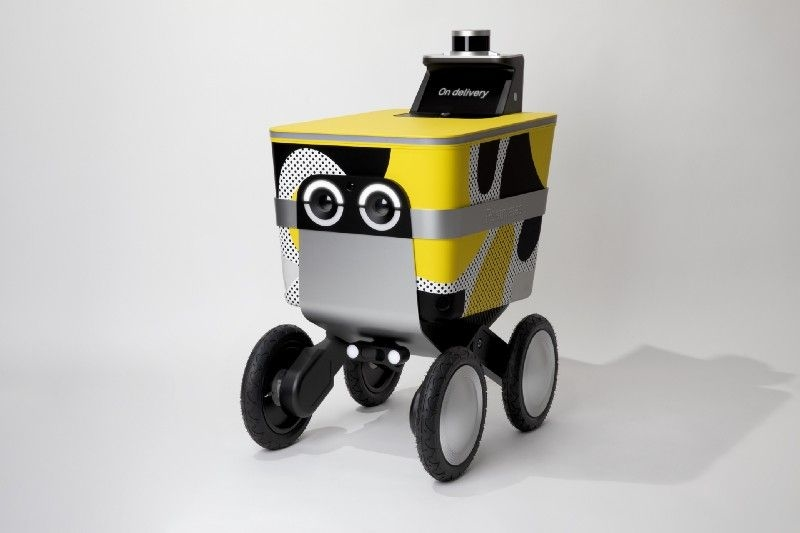 New autonomous robot from Postmates can make up to 30 miles