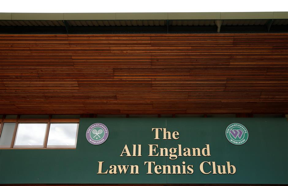 FILE PHOTO: Tennis - Wimbledon Spring Press Conference 2016 - All England Lawn Tennis & Croquet Club, Wimbledon, England - 26/4/16  General view in the grounds of Wimbledon  Action Images via Reuters / Andrew Boyers  Livepic  EDITORIAL USE ONLY./File Photo