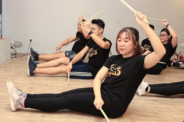 Different moves: Ooi says fitness enthusiasts are always on the lookout for new routines.