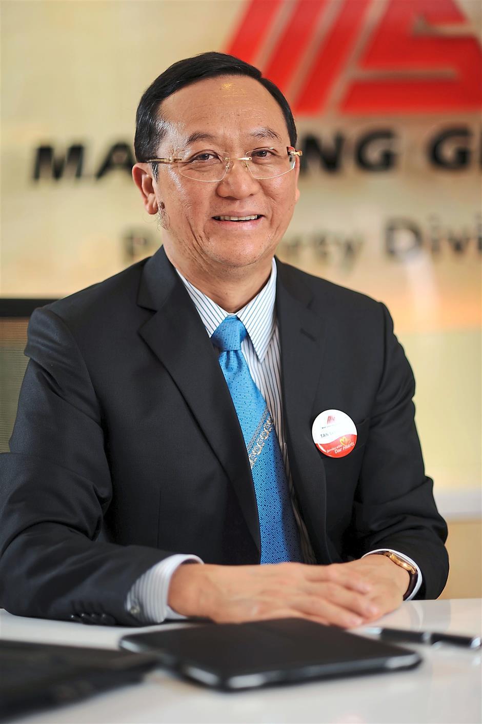 Mah Sing Group Managing Director Tan Sri Leong Hoy Kum.