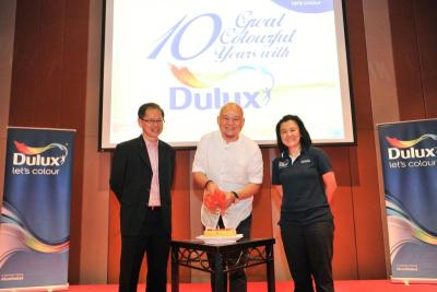 Eric Leong Continues Collaboration With Dulux The Star