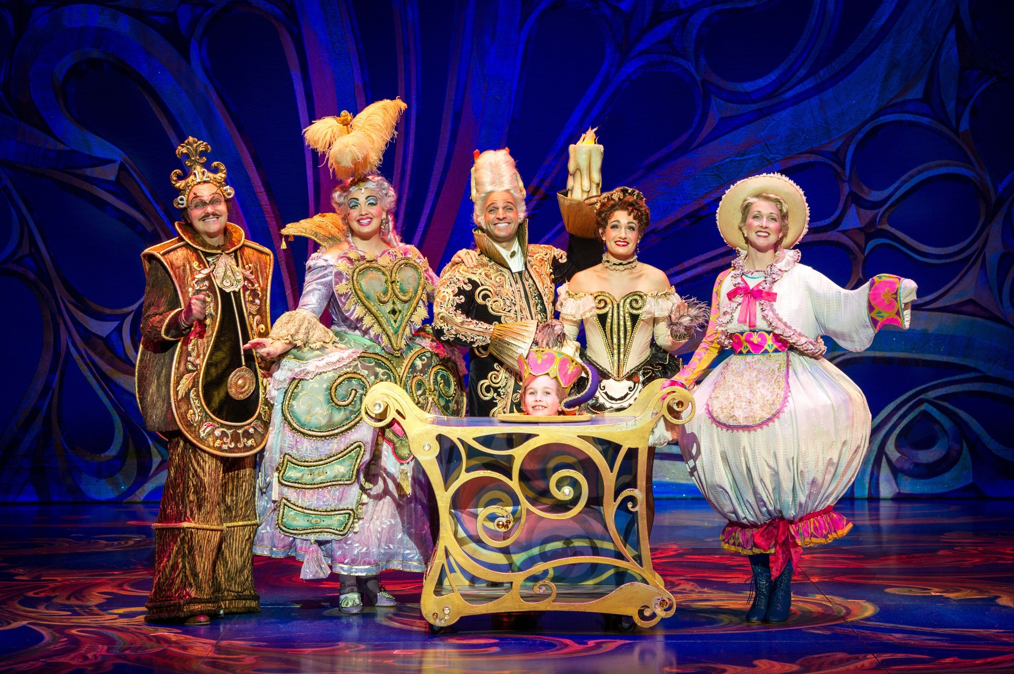 Besides being an excellent musical Beauty and the Beast features amazing and beautiful costumes. Photo: Marina Bay Sands