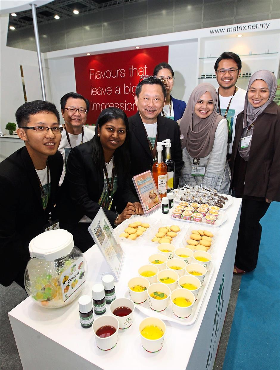 Matrix Flavours & Fragrances (MFF) Sdn. Bhd, which produces flavours that leave a big impressio took part in the recent Halal Ingredients Asia 2015 in KLCC.