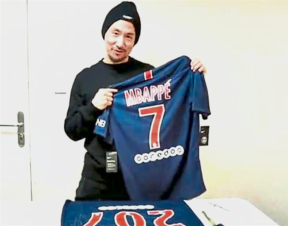 official photos 3006f 831b6 Jacky Cheung thanks Mbappe in video | The Star Online