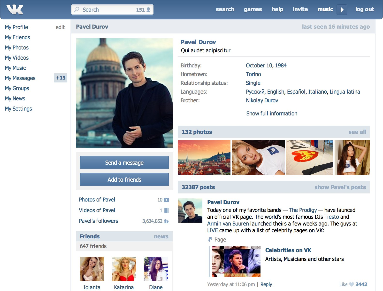 Russian social network VK launches photo sharing app | The