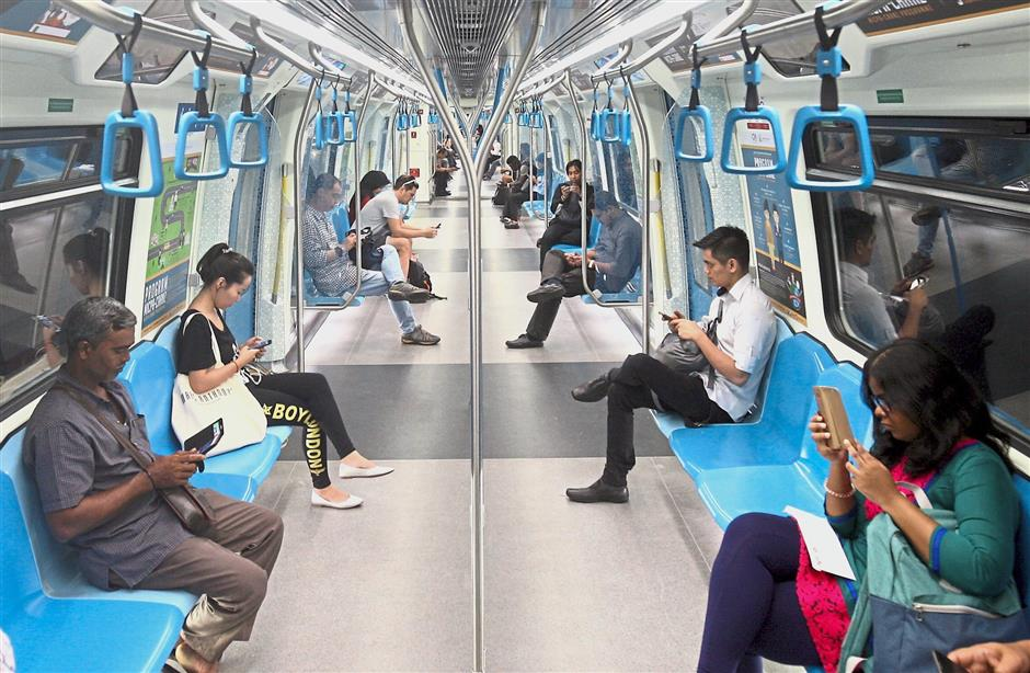 Staying connected: Most Malaysians are connected to the Internet via their mobile networks, with Malaysia's mobile broadband penetration rate being one of the highest in the region.