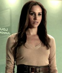 Meghan Markle is thrilled to be playing an intelligent girl in legal drama Suits.