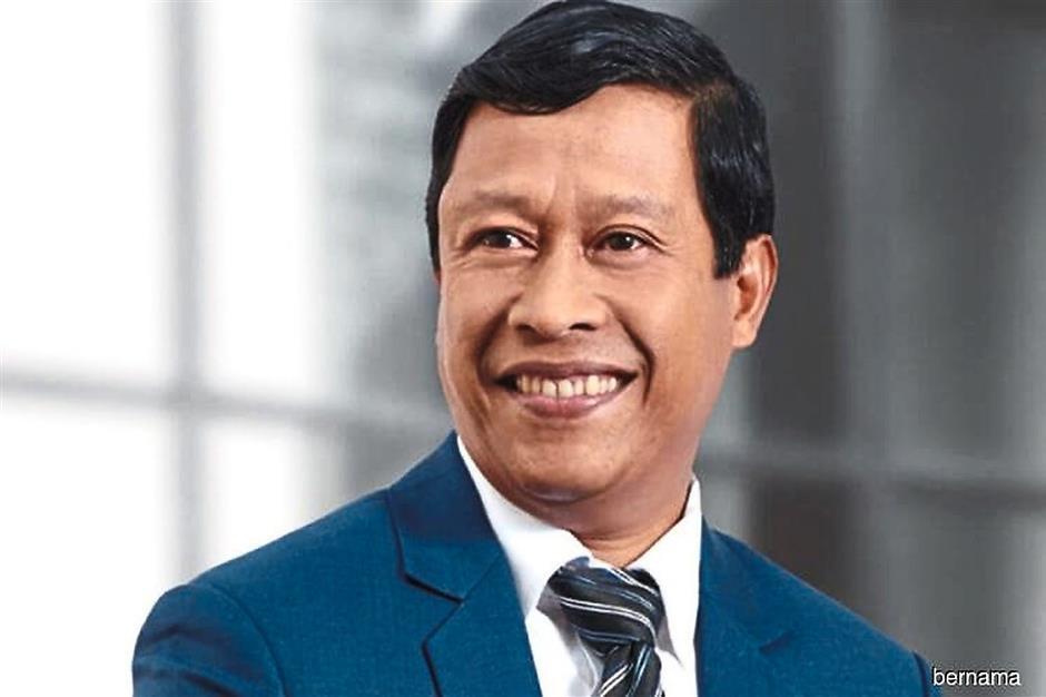 Treasury deputy secretary-general Datuk Asri Hamidon