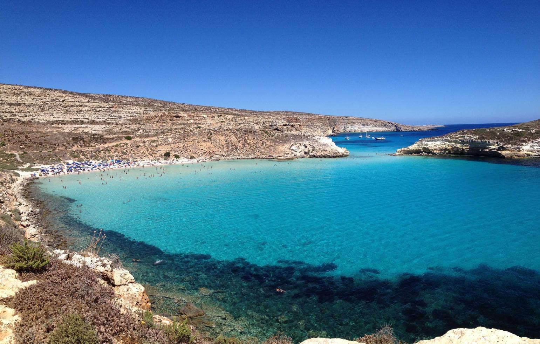 Rabbit Beach, Lampedusa, Italy. Photo: TripAdvisor
