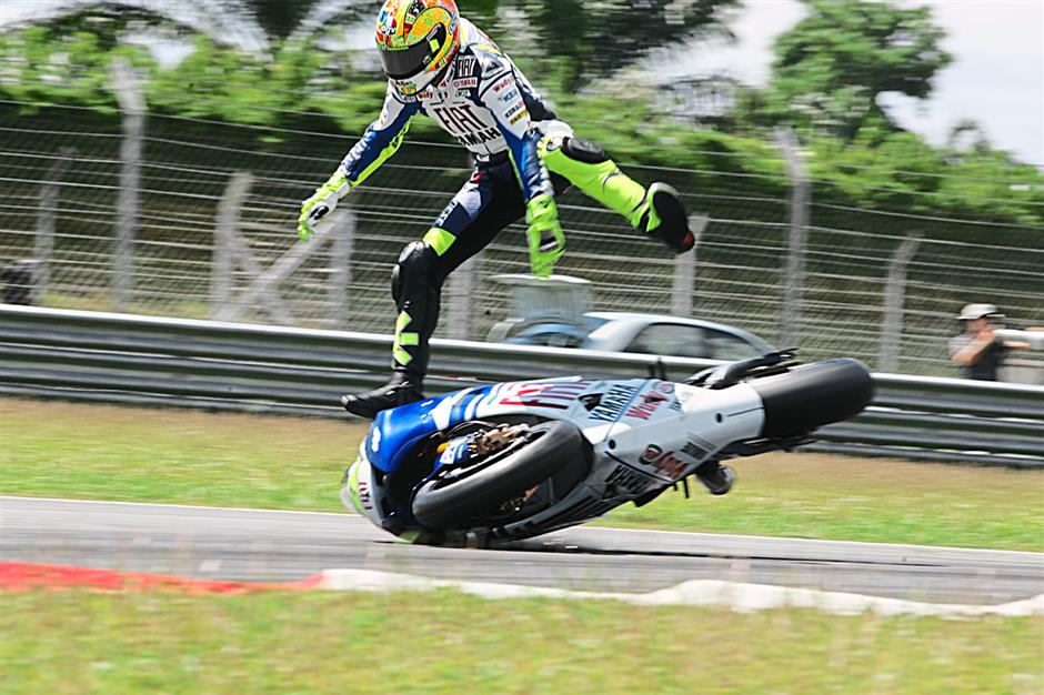 A shot of Valentino Rossi by Abdul Shukor Md Janis