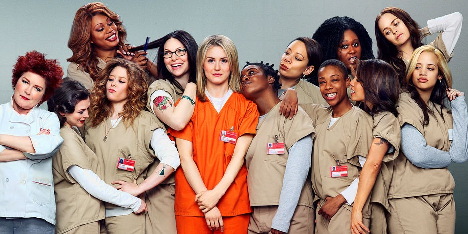 Prison comedy-drama Orange Is The New Black is one of Netflix's most highly rated series.