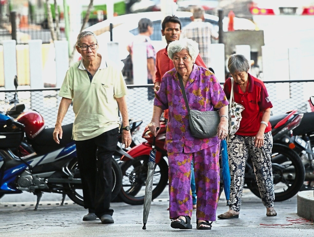 Senior citizens like to visit ICC Pudu, which  houses a wet market and many food stalls.