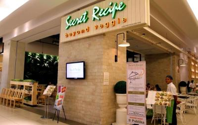 <b>Meatless dining experience:</b> Secret Recipe Beyond Veggie is the latest venture by Malaysia's largest cakes and cafe chain Secret Recipe Cakes and Cafe. Thefirst restaurant is located in Tropicana City Mall, Petaling Jaya.