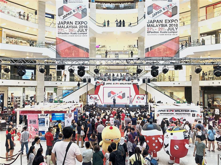 Japan expo pulls in the crowds   The Star Online