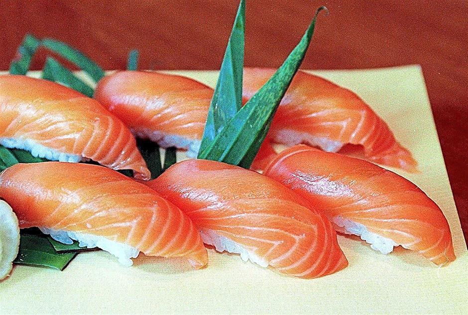 A good deal of the salmon imported into Malaysia is used in Japanese restaurants for sushi and sashimi.