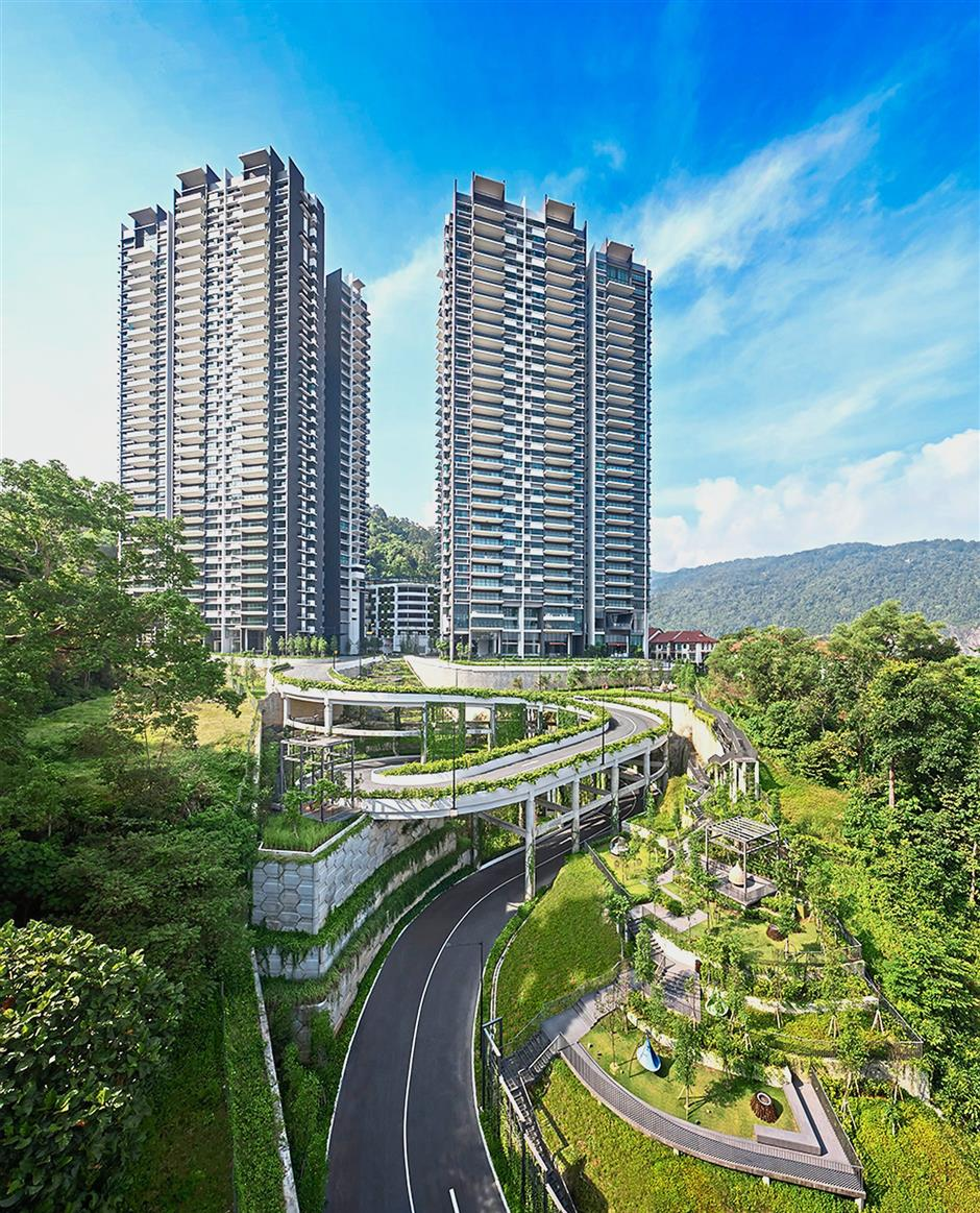 Alila2 by Hunza Group is a haven of exclusivity and serenity rising high above the leafy suburbs of Tanjung Bungah in Penang.