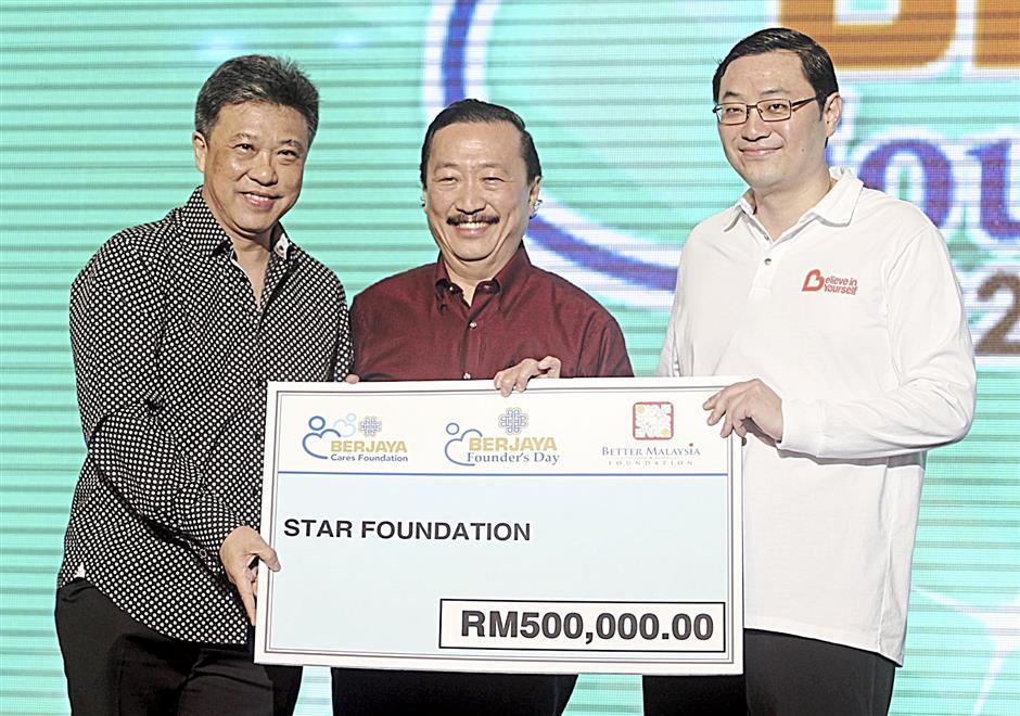 4th Berjaya Founder's Day Celebration. -Art Chen / The Star. 22 Feb 2014.