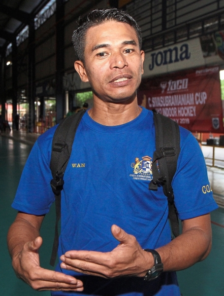 Ahmad Azuan hopes to see more tournaments that give youths a  chance to play competitively.