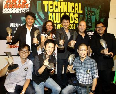 The winners: At the 10th Boh Cameronian Arts Technical Awards, winners were honoured for their achievements in Best Set Design, Best Lighting, Best Costume and Best Sound Design.