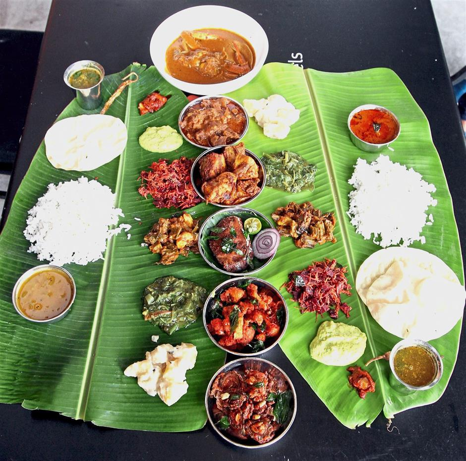 Masala Wheels was one of journalist Priya Menon's recommendations for banana leaf meals in the Metro Picks column