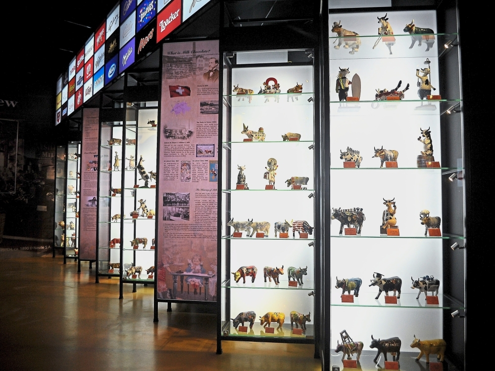 Don't miss viewing more than 100 pieces of original 'CowParade' figurines at the museum.