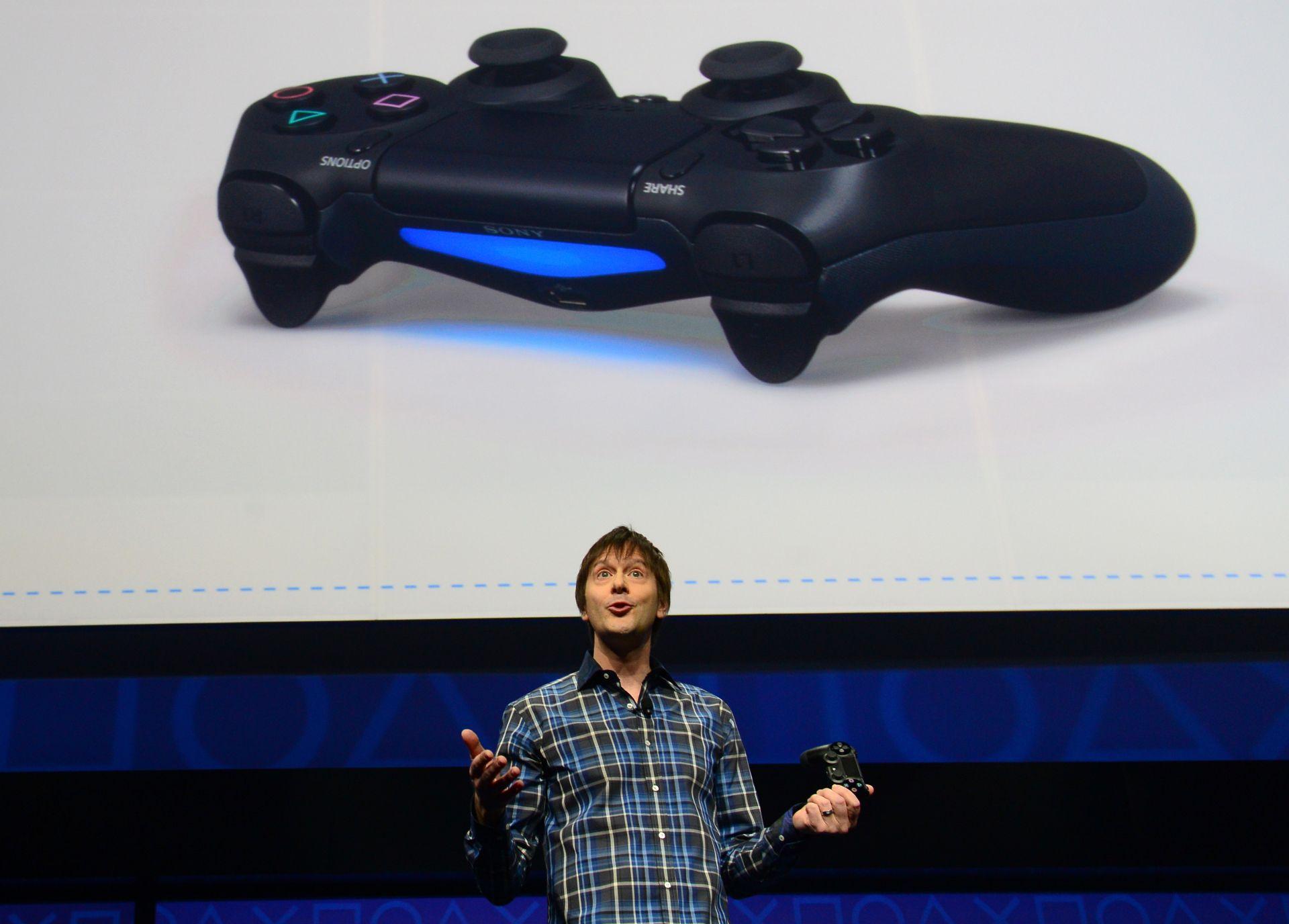 PlayStation 4 designer Mark Cerny introducing the PlayStation 4 in February 2013. u2014 AFP Relaxnews