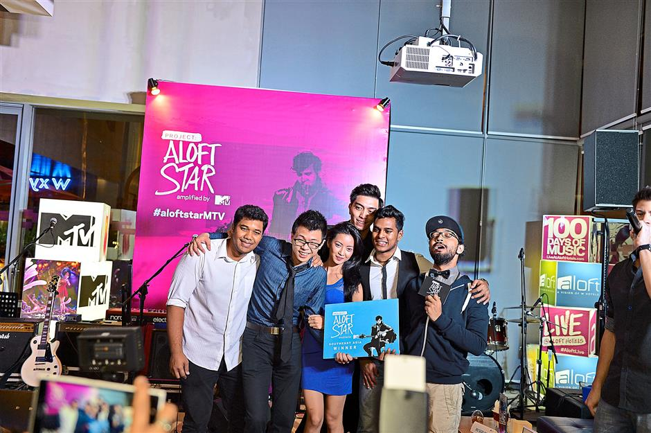Regional partnerships: Aloft Hotels teamed up with MTV to bring Asia Pacific edition of Project Aloft Star