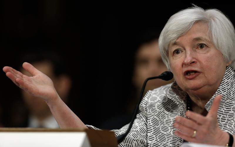 Federal Reserve Board Chairwoman Janet Yellen has expressed concerns that small caps, biotechnology, social media stocks and the leveraged loan market may be overvalued - AFP Photo.