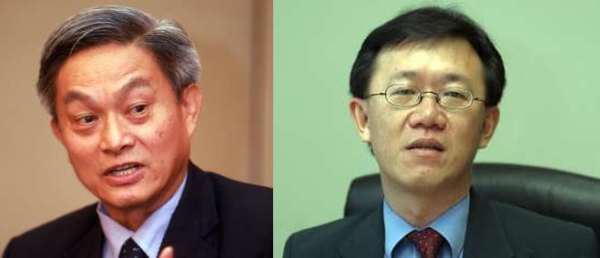 Expert opinions: Dr Yeah (left) and Lee on what the GST would bring.